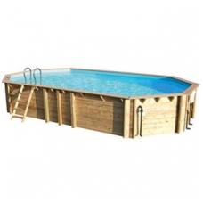 Сборный деревянный бассейн Odyssea Octo+ 840, Высота: 146 см