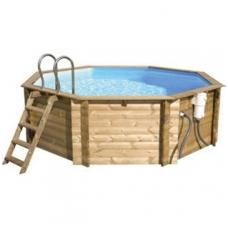 Сборный деревянный бассейн Tropic Octo 414