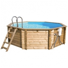 Сборный деревянный бассейн Tropic Octo 504