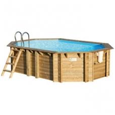 Сборный деревянный бассейн Tropic Octo+ 540