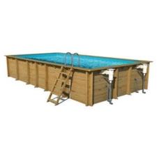 Сборный деревянный бассейн Weva Прямоугольный 8x4, Высота: 146 см