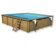 Surenkamas medinis baseinas Odyssea Kvadratas 5x5