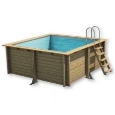 Сборный деревянный бассейн Weva Carre 3x3 - 120