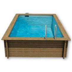 Surenkamas medinis baseinas Weva Stačiakampis 4.5x3, Aukštis: 120 cm